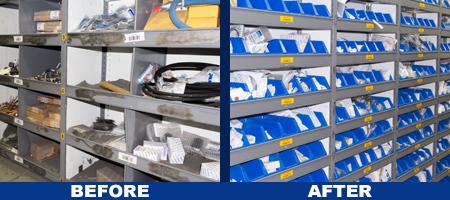 Akro Mils Plastic Storage Bins Provide Best Solution