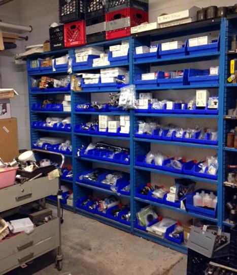 Hospital Supply Room Organization