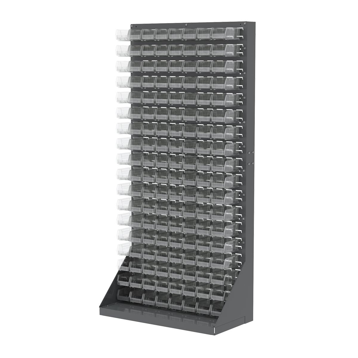 Louvered Panels Shelving Racks Akro Bins 30651